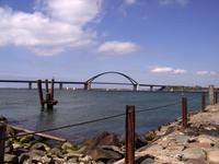 Großenbrode Fähre Anleger Sundbrücke