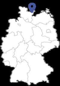 Bild vergrößern: Lage Amt Oldenburg-Land